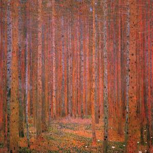 Густав Климт. Сосновый лес