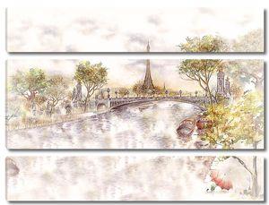 Париж в акварели