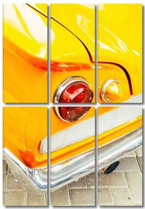 Желтый бампер