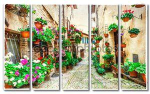 Цветочные улицы Италии