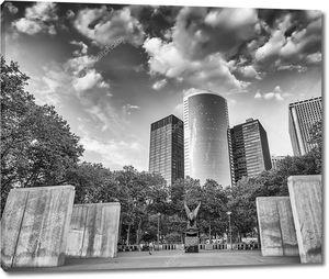 Мемориал ВМС в Бэттери-парк, Нижний Манхэттен - Нью-Йорк