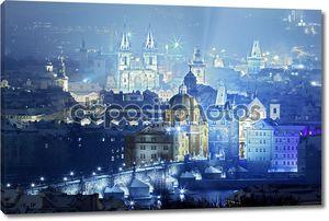 Вид Праги с Карлова моста