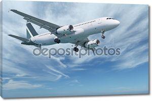 Коммерческих самолетов в небе