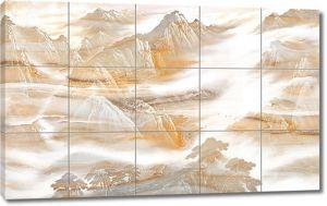 Горы на кафеле