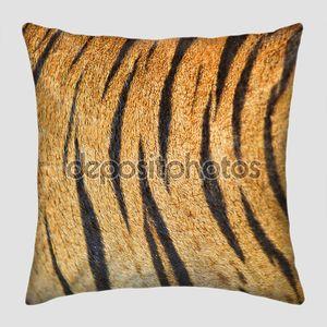 Красивый Тигр Меховые текстуры