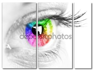 Красочные глаз