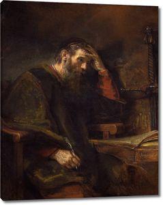 Рембрандт ван Рейн (и мастерская). Апостол Павел