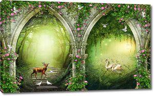 Арки в чудный лес