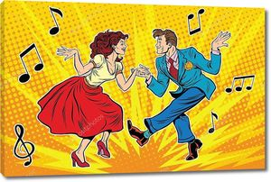 Винтажные танцы