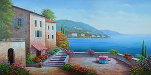 Городок на море