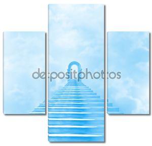 Лестница в небо, ведущие к Богу