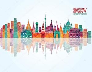 Московский горизонт детализировал силуэт