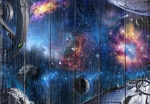 Невероятное звездное небо с планетами