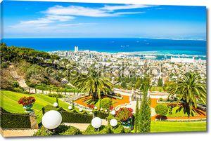 Бахайские сады в Хайфе, Израиль