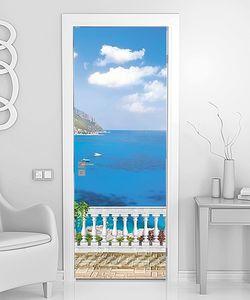 Терраса с видом на невероятное море