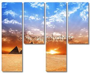 Панорама пирамид Египта