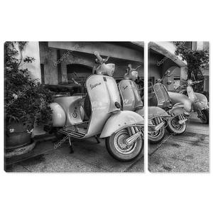 Piaggio Vespa и lambretta vintage спринт мотороллер