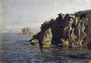 Аэс Карлос де. Скалы Санта Каталина (Лекейтио)