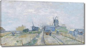 Ван Гог. Огороды на Монмартре