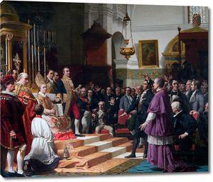 Хосе Касадо дель Алисаль. Эль-Хураменто-де-лас-Кортес-де-Кадис в 1810 году