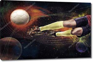 футбольное пространство