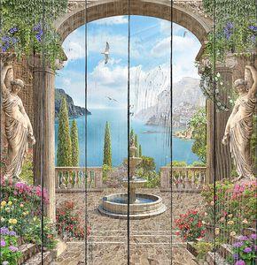Шикарная античная терраса