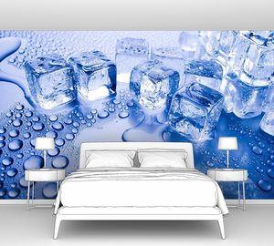 Ледяные кубы в ряд