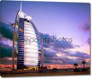 Дубай, ОАЭ отель Бурдж аль-Араба