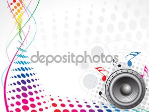 человек наслаждаться музыкой в фоновом режиме волны