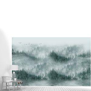 Серо-зеленый туман