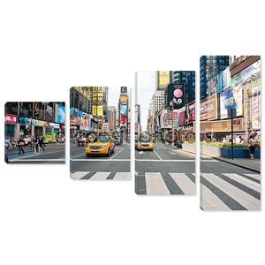 Нью-Йорк - 28 июня: ходить в Таймс-Сквер, оживленном перекрестке туристического коммерции рекламы и знаменитой улице Нью-Йорка и нас, видели 28 июня 2012 года в New York, NY