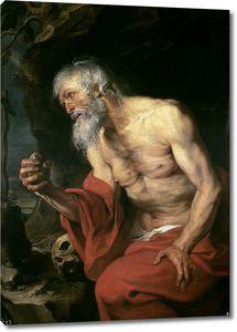 Дейк Антонис ван. Кающийся святой Иероним