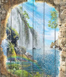 Водопады на солнце