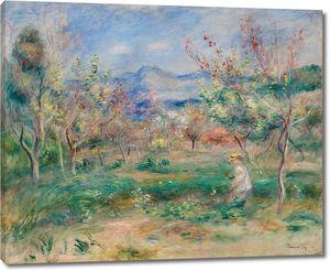 Ренуар. Пейзаж 1905