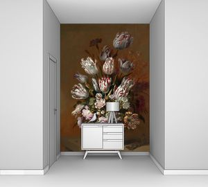 Ханс Боллонгир. Натюрморт с цветами