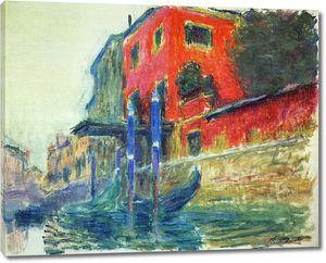 Моне Клод. Красный Дом, 1908