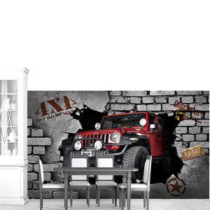 Джим в кирпичной стене