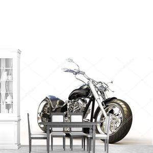 сделанный на заказ мотоцикл