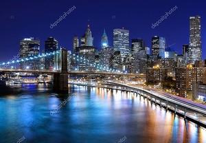 Горизонты города Нью-Йорк