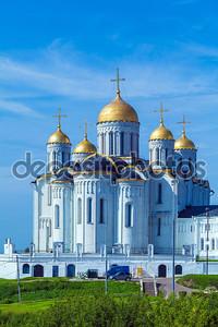 Успенский собор (1160) в Vladimir, Россия