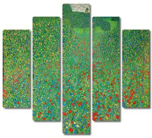 Густав Климт. Маковое поле
