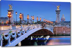 Alexander iii мост