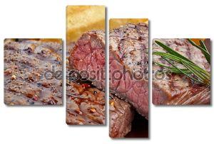 жареный говяжий стейк