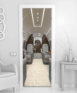 Элитный салон самолета