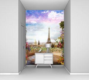 Париж с небольшой террасы