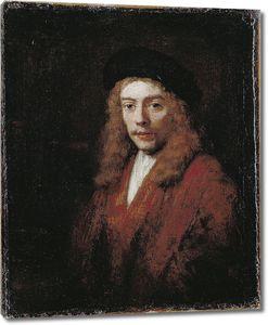 Рембрандт. Портрет Титуса в большом берете