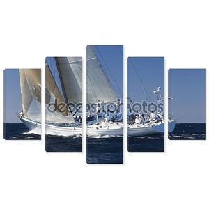 гонки парусник с экипажем на океан