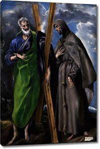 Эль Греко. Святые Андрей и Франциск