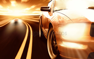 Гоночный спортивные автомобили