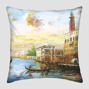 Городской пейзаж прекрасной Венеции